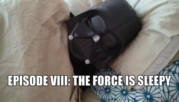 Sleepy Darth