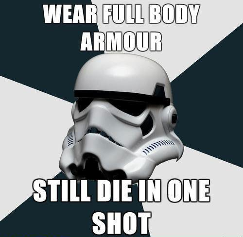 Star Wars Stromtrooper Armour Meme