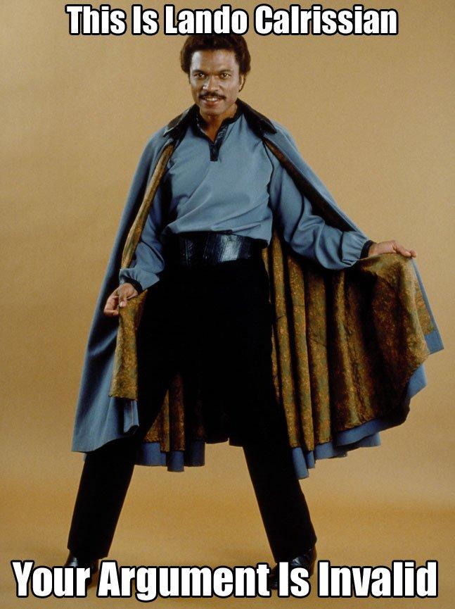 Star Wars Lando Meme