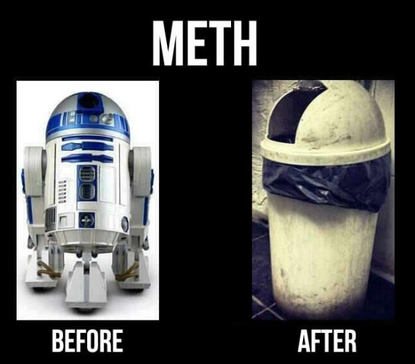Star Wars R2-D2 Meth