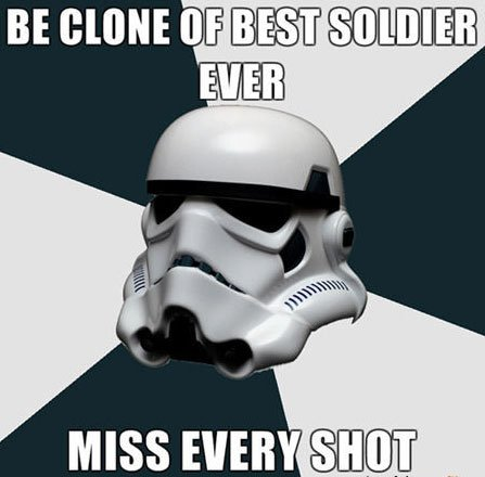 Star Wars Stormtrooper meme