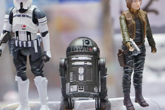 Rogue One AT-ACT Driver black Astromech Droid