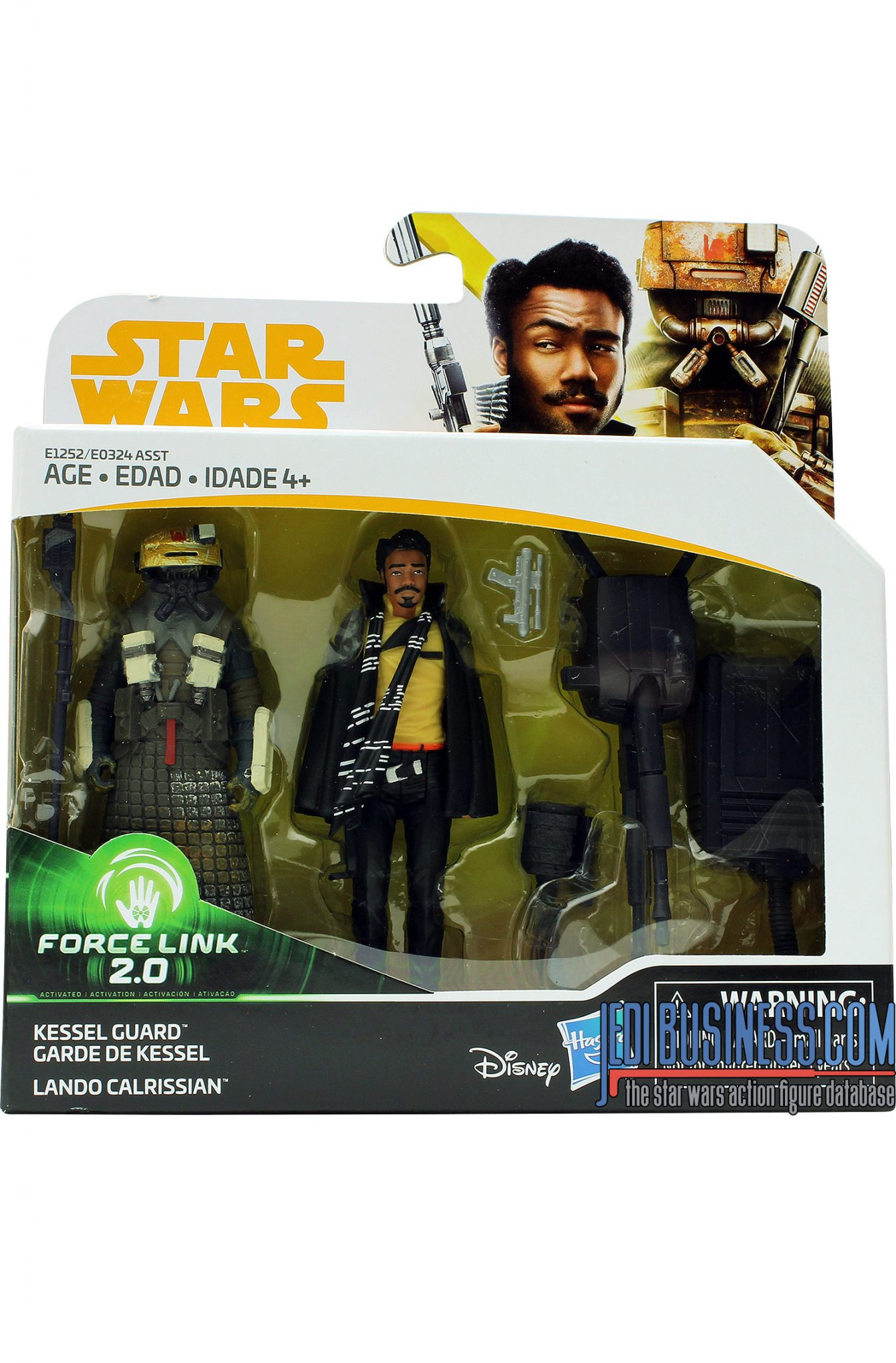 Lando Calrissian / Kessel Guard 2-pack