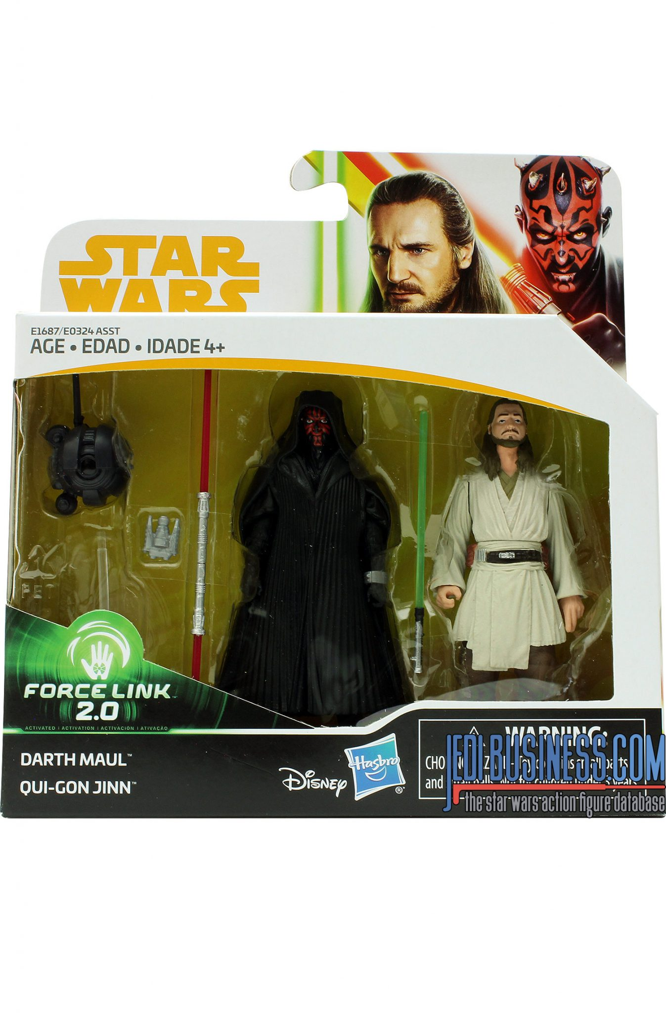 Darth Maul 2-Pack With Qui-Gon Jinn & Probe Droi