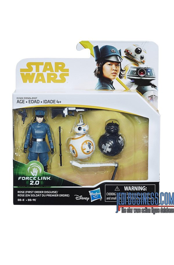 Rose Tico BB-8 BB-9e 3-Pack