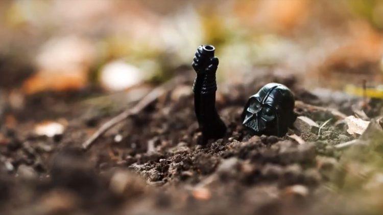 Darth Vader Buried In a Landfill Far, Far Away