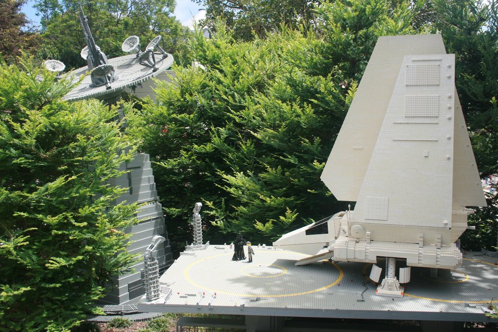 Endor Imperial Base and landing pod